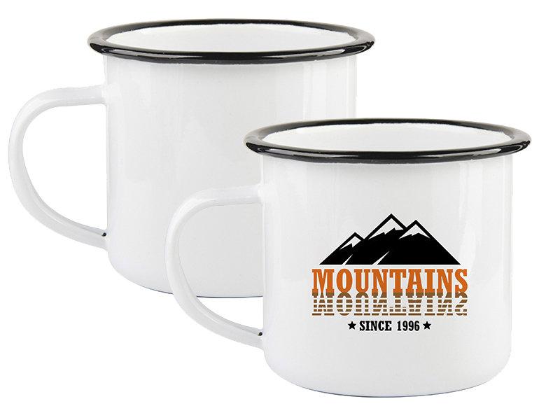 10 oz Enamel Mug