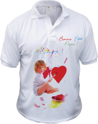 Polo Adult Sublimation T-Shirt