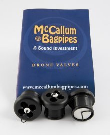 Bagpipe Drone Valves