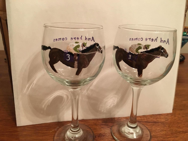 Elmhurst Wine Glass Racing