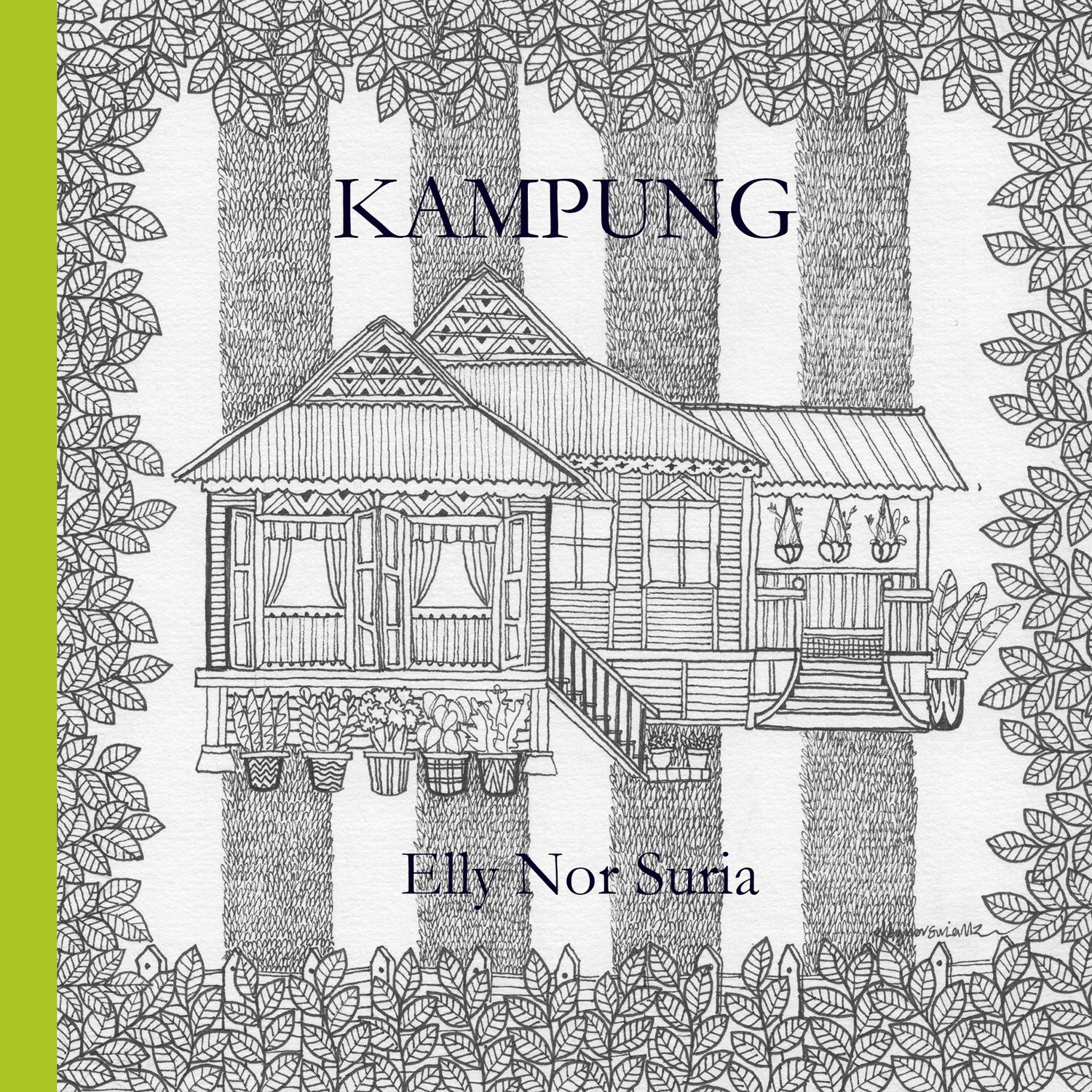 Kampung - Colouring Book