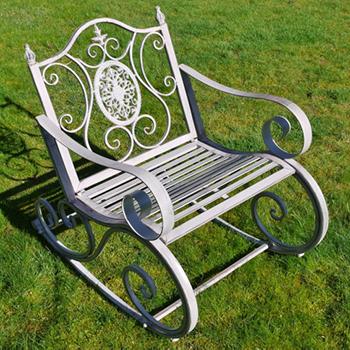 Elegant Garden Rocking Chair