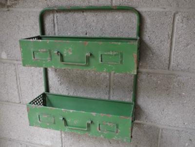The Brian Retro Tool Box Wall Storage Unit