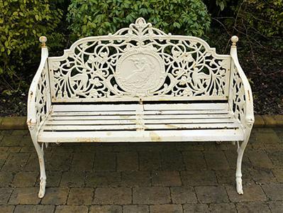 Lady Garden Bench