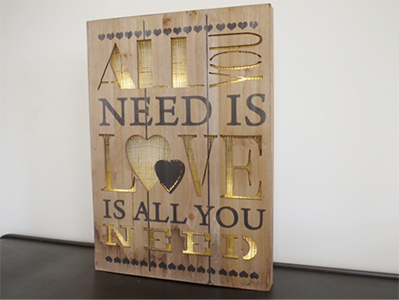 Wall Décor - All You Need is Love