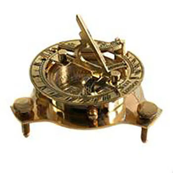 Fair Trade Sundial Compass