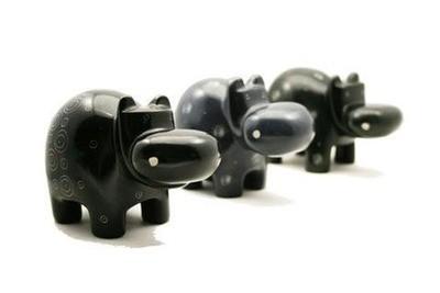 Tilnar Art Fair Trade Hippo