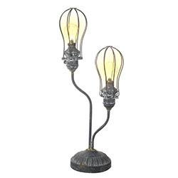 Light Bulb Led Iron Lantern