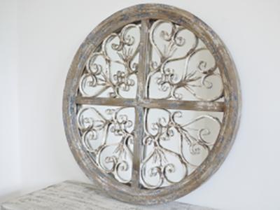 Rustic Circle Mirror