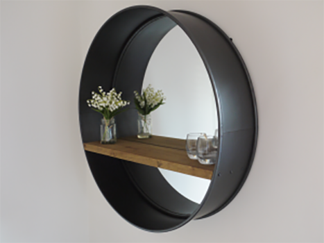 Industrial Circle  Mirror