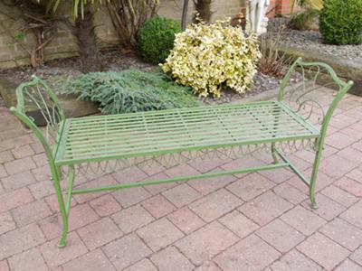 The Grace Garden Seat Antique Green