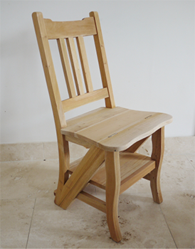 Unfinished Chair / Step