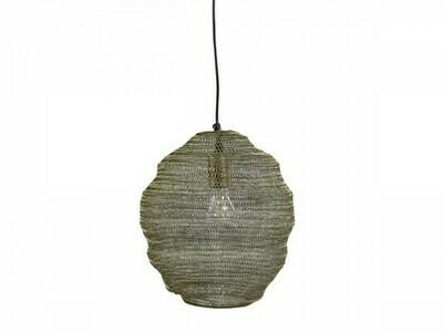Fil de Fir Lamp Antique Brass