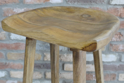 The Toby Wooden Bar Stool