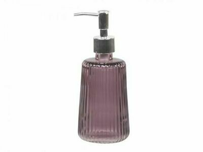 Heather Grooved Soap Dispenser