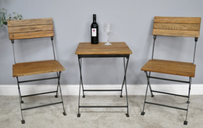 Classic Bistro Table and Chairs Set