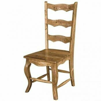 Solid Wood Ladder Back Dining Chair