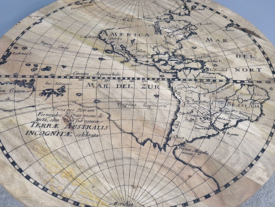 The Americas Map Table