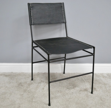 Set of Leather Dining Chairs