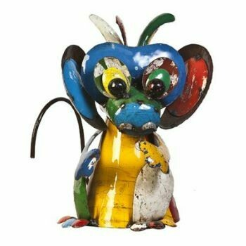 Recycled Cheeky Monkey Sculpture