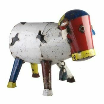 Recycled Clarence Cow Sculpture