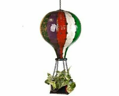 Recycled Hot Air Balloon