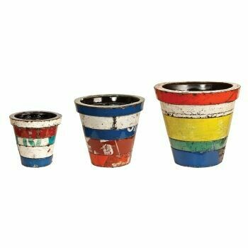 Recycled Madrid (Set of 3) Planters Sculptures