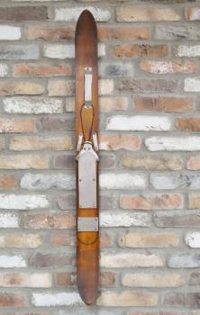 Wooden Ski Wall Art