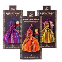 Fair Trade Worry Dolls with Bag