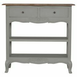 Amberly Grey Painted Console Table