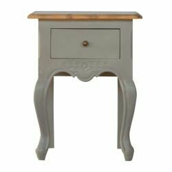Amberly Grey Painted Bedside Table