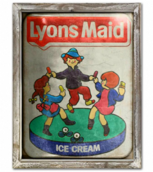 Lions Maid Advert Metal Picture
