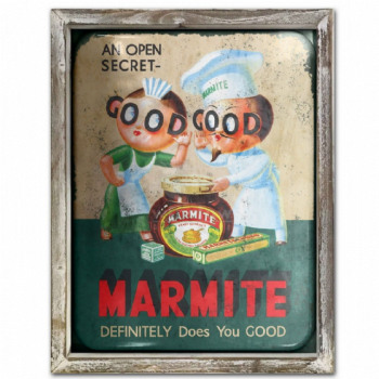 Marmite Advert Metal Picture