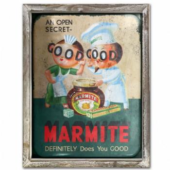 Marmite Advert Metal Picture