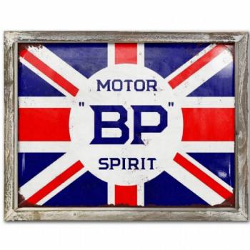 BP Advert Metal Picture