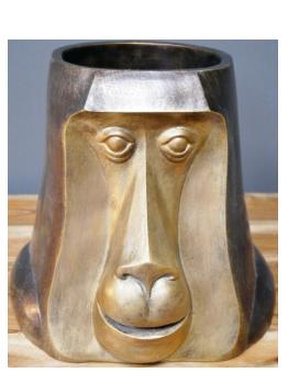 Monkey Head Pot