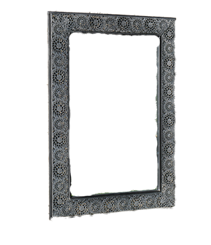 Moroccan Finish Garden Mirror