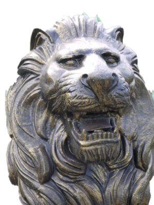 The Rex Lion Statue
