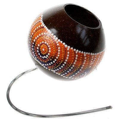 Coconut Shell Thunder Spring Drum