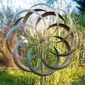 Granchester Verdigris Wind Sculpture