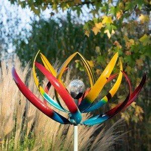 Tresco Multi Coloured Wind Sculpture