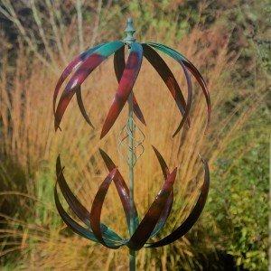Cosmic Gold Wind Sculpture