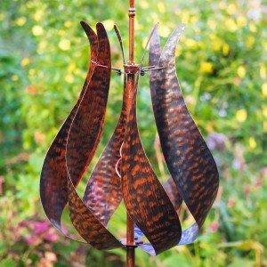 Jubilee Burnished Gold Wind Sculpture