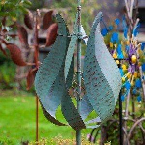Jubilee Verdigris Wind Sculpture