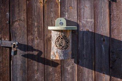 Wildlife National Trust Wicken Fen Collection Log Bee House