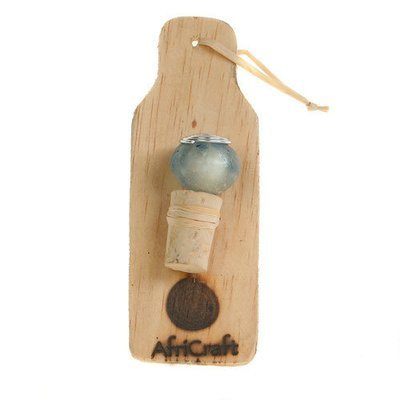 Recycled Bottle Stopper Glass Bead