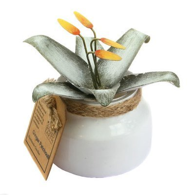 Fair Trade Recycled Shabby Chic Candle - Ginger Patchouli