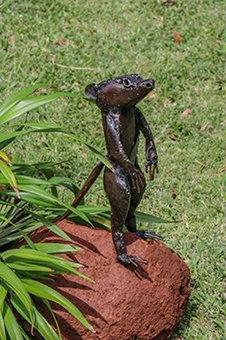 Tilnar Art Fair Trade Recycled Meerkat