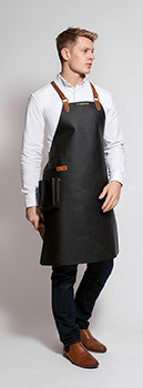 Stalwart Quality Leather Backstrap Apron for Men