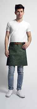 Stalwart Quality Leather Short Apron